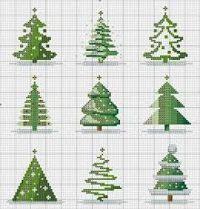 Christmas Tree Cross Stitch Chart Christmas Trees Counted Cross Stitch Cross Stitch Tree