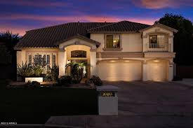 Awesome Front View 3 Car Garage Mesa Az Homes For Sale