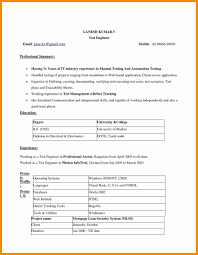 Sample Resume For Teachers Without Experience Download Beautiful