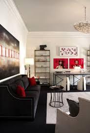 best red living rooms interior design ideas