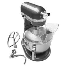 X KitchenAid KP26M1XPM 10 Speed Stand Mixer W 6 Qt Stainless Bowl U0026  Accessories Pearl Metallic
