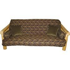 black pinecone futon cover