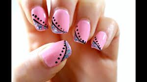 Pink Nail Art Design Elegant Pink Nail Art Tutorial Perfect For Short Nails