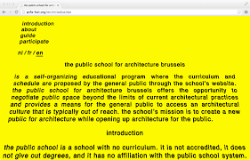 architecture yellow. 7 fp public school for architecture brussels yellow