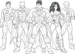 Superheroes Coloring Pages Printables Marvel Superhero Coloring