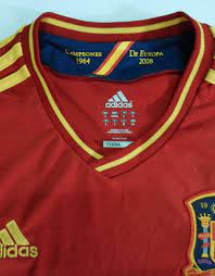 ประมูลสินค้ามือสอง : เสื้อทีมชาติสเปน (( แท้ )) EURO 2012