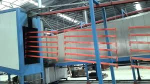Powder Coating Rack powder coating process for box beam of warehosue rack YouTube 32