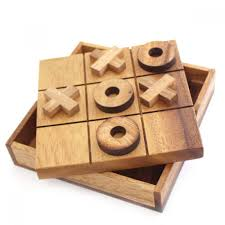 Game With Stones And Wooden Board Tic Tac Toe Wooden Game TicTacToe Board Game 74
