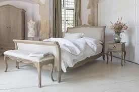 Bedroom Furniture Uk Camille French Style Upholstered Bed Crown French Furniture
