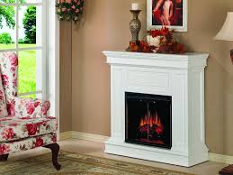 Heat Surge Fireless Flame Electric Fireplace On CustomFireplace Amish Fireless Fireplace