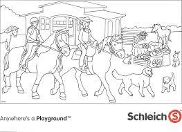 Charmante Kleurplaten Honden En Paarden Krijg Duizenden