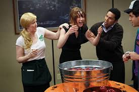 Office halloween party themes Graveyard Office Halloween Apple Bobbing Contest Yhomeco Of The Best Office Halloween Ideas That Will Boost Your Spirit