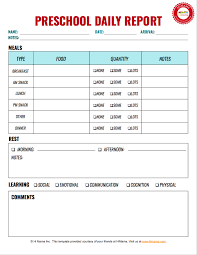 Infant Daily Reports Free Toddler Daily Sheets Himama