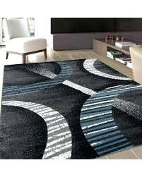 brown area rugs contemporary modern black blue white and