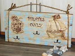 Nursery Coat Rack Amazon Nursery Coat Rack Pirates Only Wall Rack Pirate Kids 59