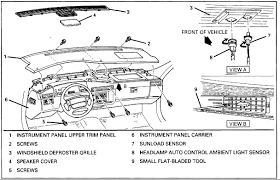 how do you remove a dash board from a 1996 cadillac devill pull fuses a 5 ipc and b5 ipc from rear compartment fuse panel pull fuse a3 ign1 from engine compartment fuse panel using a small flat bladed screwdriver