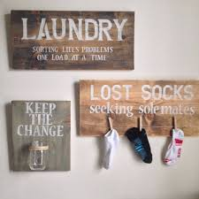 diy rustic wood clothespin for laundry organizer