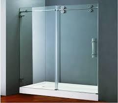 brilliant sliding shower doors sl frameless sliding shower doors for tubs fabulous custom shower doors