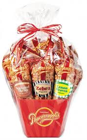 clic 7 cone popcorn gift basket ody can resist our clic red popcornopolis gift basket unwrap the cellophane to find seven insanely delicious
