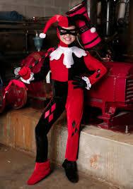 Harley Quinn Costumes For Kids Womens Harley Quinn Halloween Costumes