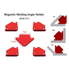 "25LB 3"" <b>Magnetic</b> Welding Angle Holder Corner Arrow Support ..."