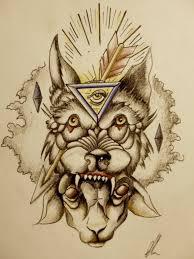 Triangle Eye Amazing Old School Tattoo Stencil Golfiancom