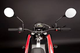 zero ds electric motorcycle mirrors and controls