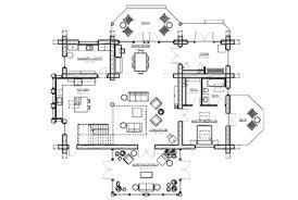 Cabin Floor Plans With Loft  Hideaway Log Home And Log Cabin Open Log Home Floor Plans