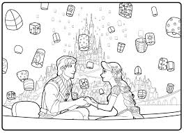 Small Picture coloring pagesRapunzel and flynn wedding coloring pages Coloring