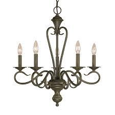 millennium lighting devonshire 22 in 5 light burnished gold vintage candle chandelier