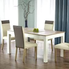 Table A Manger Blanc Et Bois Cuisine With A Manger Table Salle A