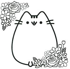 Pretentious Design Kawaii Cat Coloring Pages Alert Famous Cute
