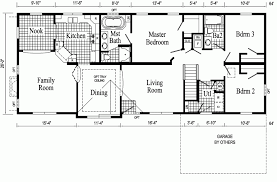 floor plan of a house with dimensions. Floor Plans For Ranch Style Home - Luxamcc.org Plan Of A House With Dimensions
