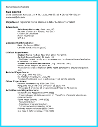 Registered Nurse Resume Sample Format Resume Entry Level Nursing Resume Examples 16
