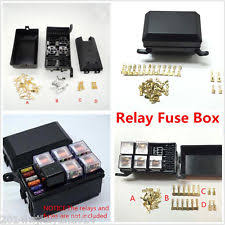 fuse relay box parts accessories auto car fuse relay holder box relay socket 6 relay 5 road the nacelle insurance