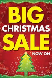 Big Christmas Sale Retail Poster