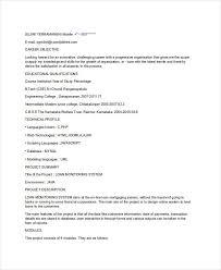 40 Fresher Resume Templates PDF DOC Free Premium Templates Gorgeous Resume B Tech