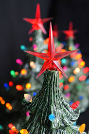 Ceramic Christmas Tree  Best For 2017 13 With Lights U0026 VintageCeramic Tabletop Christmas Tree With Lights
