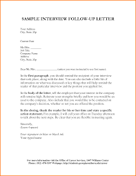 follow up interview letter letterhead template sample follow up interview letter 40696797 png