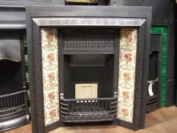 073ti victorian cast iron tiled insert doncaster