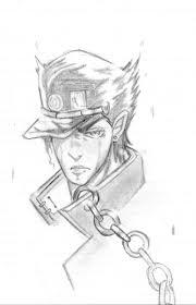 中1が承太郎を鉛筆だけで描いてみた 雑音 さんのイラスト ニコニコ