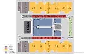 El Paso Coliseum Seating Chart Ricky Martin Official Fan Club Barcelona Concierto El Paso