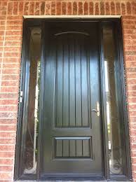 modern fiberglass entry doors. 8-foot door-single-solid-rustic-front-door-with-2-iron-art-side-lites-installed- by toronto front entry doors in-scarborough 536 modern fiberglass