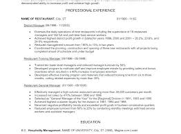 Restaurant Manager Resume Objective Assistant Manager Resume Objective Retail Manager Resumes Retail
