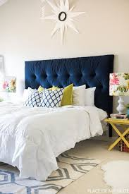 Tufted headboard - how to make it own your own tutorial