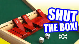 Homemade Wooden Games Make a wood ShuttheBox game YouTube 9