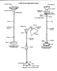floor lamps halogen torchiere floor lamp parts watt black