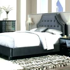 cushion headboard bedroom sets bed large beds upholstered head grey double queen