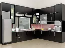 Kitchen  Contemporary Modern Kitchen Interior Beautiful Modern Kitchen Room Interior
