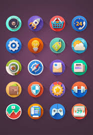 Google Flat Design Icons 250 Ultimate Collection Of Free Line Icon Sets App Icon